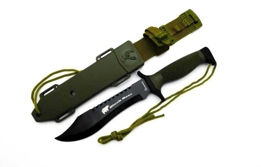"""Cuchillo de supervivencia """"Black Bear"""""""