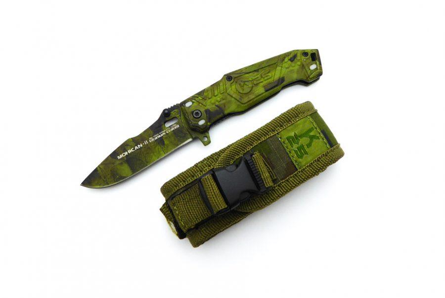 Navaja K25 Mohican verde