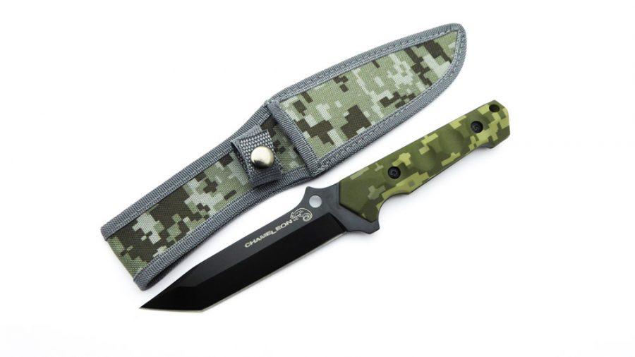 Cuchillo táctico militar Camaleón chameleon