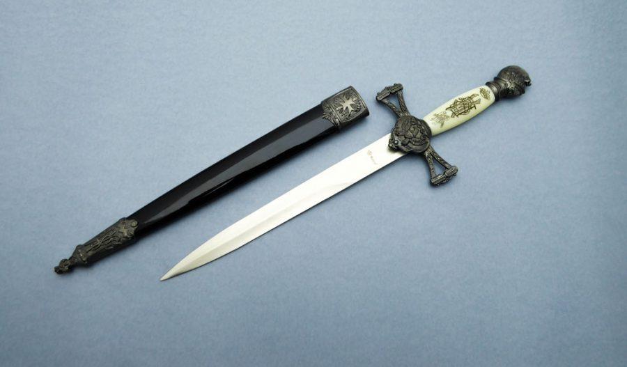 Cuchillo Espada Ornamental Daga Tole10