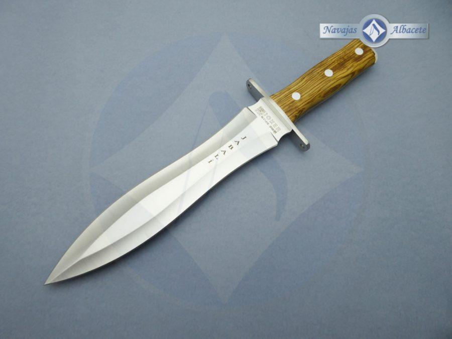 Cuchillo artesano de caza jabalí Joker